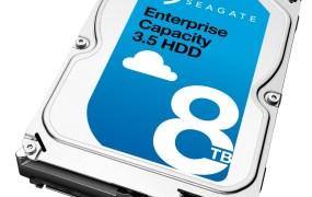Seagate's 8 terabyte hard drive for enterprises.
