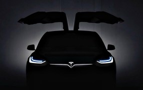 Tesla's Model X electric car