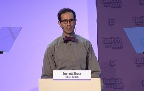 Emmet Shear, CEO of Twitch.
