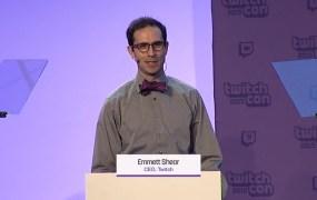 Emmet Shear, CEO of Twitch.