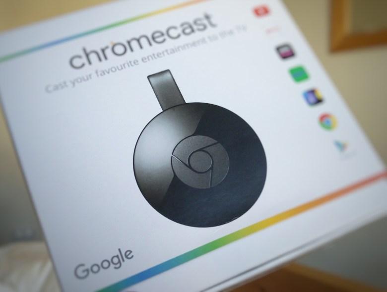 how to use google chromecast on tv
