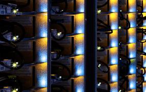 Inside Google's South Carolina data center.