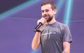 Twitter CEO Jack Dorsey onstage at the Flight developer conference on October 21, 2015 at the Bill Graham Civic Auditorium in San Francisco, Calif.