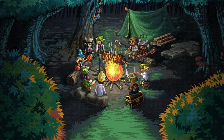 Knights of Pen and Paper 2 is a cute but ultimately dull role playing 70b22pAx