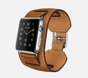 "The Apple Watch Hermes ""Cuff"" style."