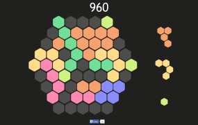 Hex FRVR is simple but super addictive.