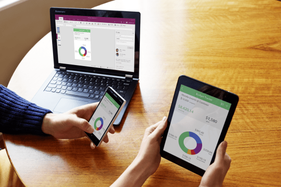 An application built with Microsoft PowerApps.