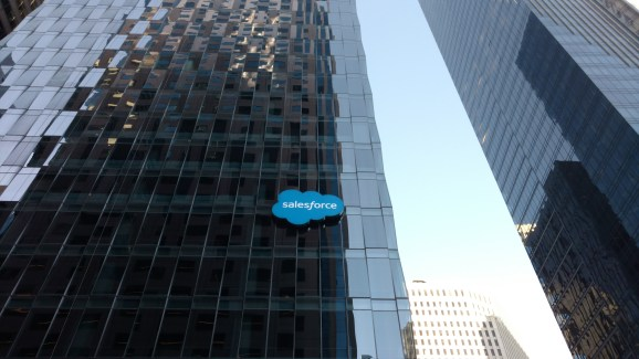 A Salesforce building in San Francisco.