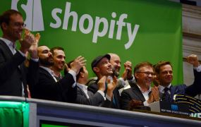 Shopify IPO Photo