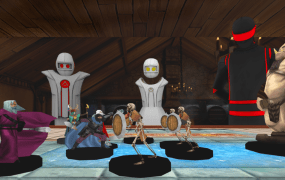 Dungeons & Dragons AltspaceVR session