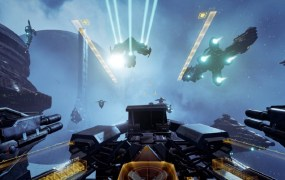 Eve Valkyrie is a VR space combat game from CCP.
