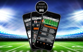 Maxim Sports Live lets you bet on sports one play at a time. It's powered by JetBet.