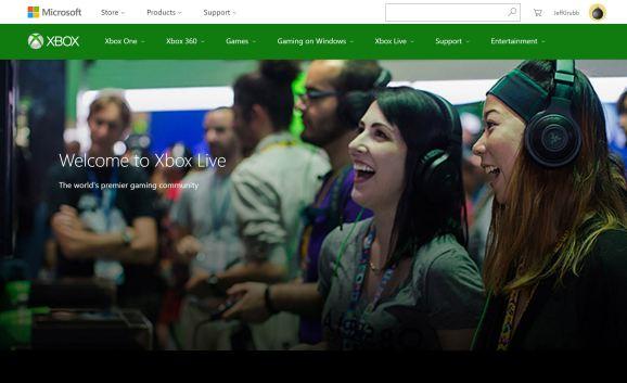 The XboxLive.com website.