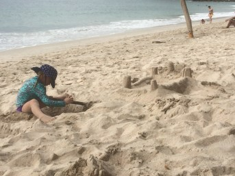 sandcastles and digging