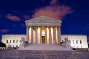 Supreme Court at Night