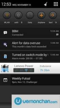 Lenovo IdeaPhone K900 UI snapshots