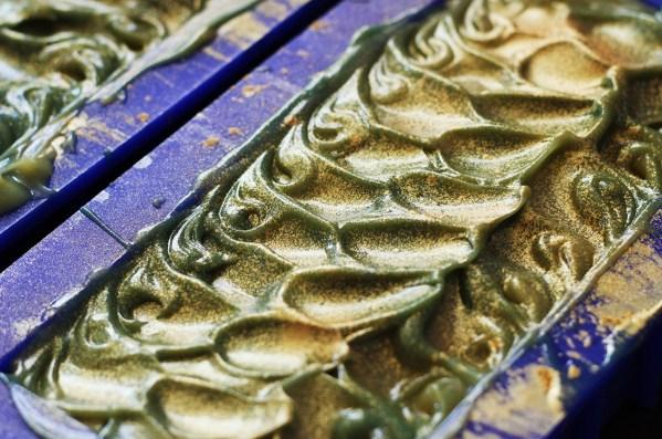 Lemon Verbena Soap Tops