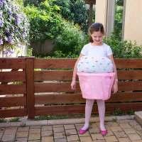 DIY Purim Costume: The Cupcake