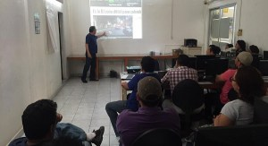 Capacitacion a medios de comunicacion Campeche