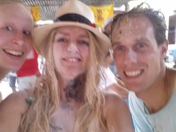 With Sabine and Pieter from the Netherlands