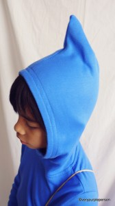 Pointed hood tutorial
