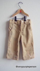 KCWC: Khaki pants