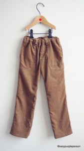 Camel corduroy pants