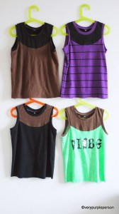 Sleeveles T-shirts