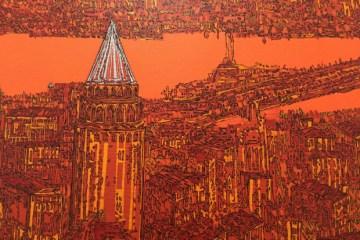 Devrim Erbil. İstanbul, Galata ve Aşk (2014) .