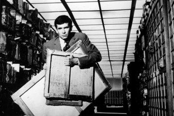 "Orson Welles'in ""Dava"" filminden bir kare. Fotoğraf: Ronald Grant"