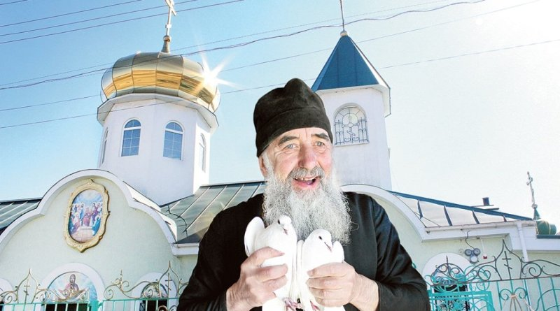 Крила любові над Свято-Духівським храмом Дніпропетровщини