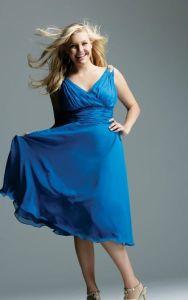 vestidos de fiesta para gorditas azul (2)