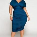 vestidos de fiesta para gorditas azul (4)