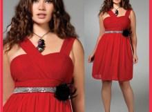 vestidos de fiesta para gorditas rojos (5)