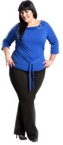 Vestidos de fiesta para gorditas color azul (2)