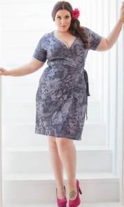 vestidos de fiesta para gorditas con mangas (3)