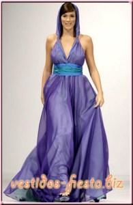 Vestidos de fiesta para gorditas con escote halter (11)