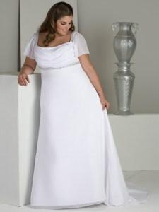 vestidos de fiesta para gorditas de corte imperio (8)