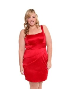 Vestidos rojos para gorditas (10)