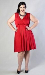 Vestidos rojos para gorditas (12)
