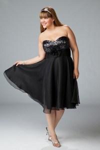 Hermosos vestidos de fiesta a la rodilla para gorditas (2)