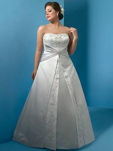 Hermosos vestidos de novia para gorditas  (20)