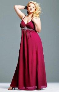Imágenes de vestidos de noche para gorditas (10)