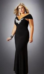 Imágenes de vestidos de noche para gorditas (3)