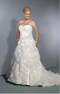Hermosos vestidos para novias gorditas (11)