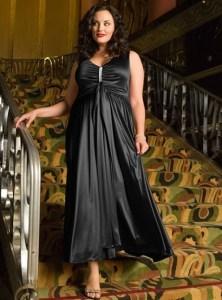 Vestidos de fiesta para gorditas embarazadas (6)