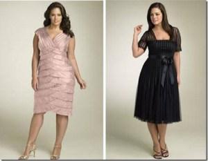 Vestidos de fiesta para gorditas para celebraciones informales (1)