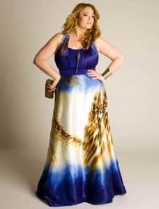 15 opciones de hermosos vestidos de fiesta para gorditas estampados (4)