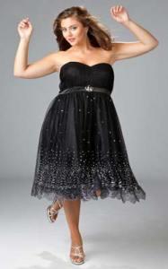 15 opciones de vestidos de fiesta para gorditas largos para Navidad (4)