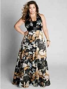 15 opciones de vestidos floreados de fiesta para gorditas (6)